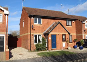 Thumbnail 2 bed semi-detached house for sale in Rainer Close, Stratone Village, Swindon