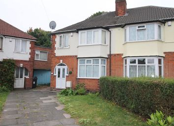 Thumbnail 3 bed semi-detached house for sale in Lawnswood Grove, Handsworth, Birmingham