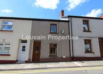 Thumbnail 2 bed terraced house for sale in Harcourt Street, Ebbw Vale, Blaenau Gwent.