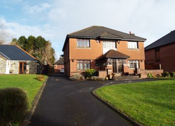 Thumbnail 4 bed detached house for sale in Summerland House, 80 Cawell Road, Caswell, Swansea