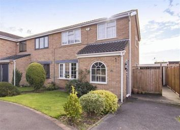 Thumbnail 3 bed semi-detached house for sale in Aults Close, Findern, Derby
