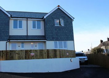 Thumbnail 3 bed semi-detached house for sale in Nanpean, St. Austell
