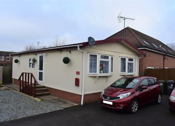 Thumbnail 2 bed mobile/park home for sale in The Haven, Shelley Street, Loughborough