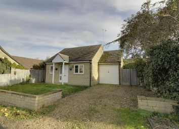 Thumbnail 2 bed detached bungalow for sale in School Lane, Maxey, Peterborough