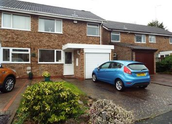 Thumbnail 3 bed semi-detached house for sale in Atcham Close, Redditch, Worcestershire