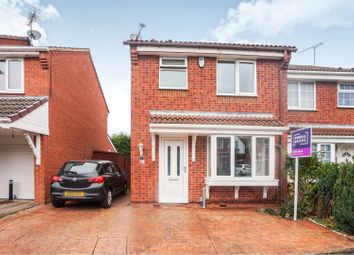Thumbnail 3 bed semi-detached house for sale in Denbigh Close, Dudley