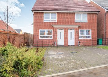 Thumbnail 2 bed semi-detached house for sale in Underwood Mews, Nottingham