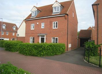 Thumbnail 5 bed detached house for sale in Fretter Close, Broughton Astley, Leicester