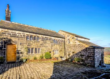 Thumbnail 5 bed detached house for sale in Bell House, Cragg Vale, Hebden Bridge