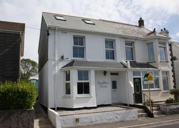 Thumbnail 4 bed semi-detached house for sale in Summercourt, Newquay, Cornwall