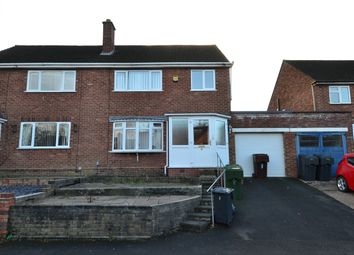 Thumbnail 3 bed semi-detached house for sale in Belmont Road, Rednal, Birmingham