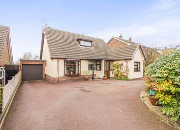 Thumbnail 3 bed detached bungalow for sale in Deane Gate Drive, Houghton-On-The-Hill, Leicester