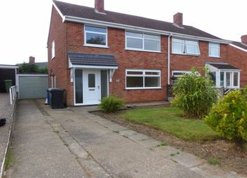 Thumbnail 3 bed semi-detached house to rent in Rother Avenue, Brimington, Chesterfield