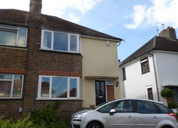 Thumbnail 3 bed semi-detached house to rent in Wilmington Way, Brighton
