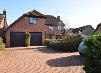 Thumbnail 4 bed detached house for sale in Yew Tree Rise, Wickham Market