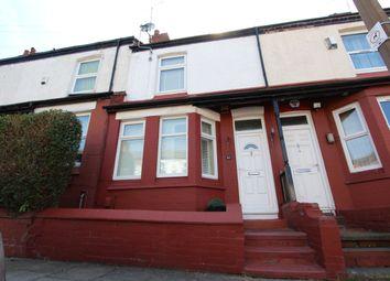 Thumbnail 2 bedroom terraced house to rent in Sherlock Lane, Wallasey