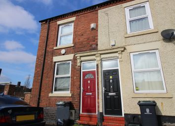 Thumbnail 2 bedroom terraced house for sale in Woolrich Street, Stoke-On-Trent, Staffordshire