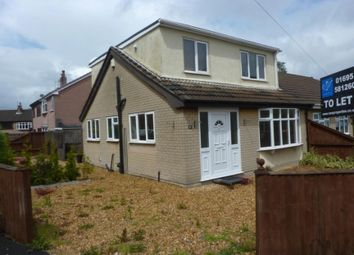 Thumbnail 3 bed semi-detached bungalow to rent in Brentwood, Pemberton, Wigan