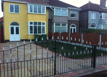 Thumbnail 3 bed semi-detached house for sale in Queens Road, Crosby, Liverpool, Merseyside