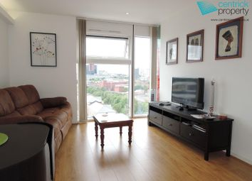Thumbnail 1 bed flat to rent in The Cube West, 197 Wharfside, Birmingham