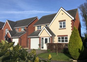 Thumbnail 4 bed detached house for sale in Yew Tree Rise, Rogiet, Caldicot
