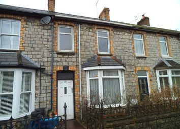 Thumbnail 3 bedroom terraced house for sale in Sunnyside Road, Bridgend