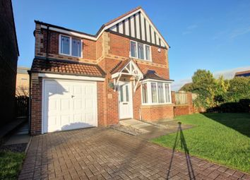 Thumbnail 4 bed detached house for sale in Meadow Rise, Gateshead