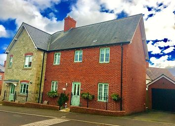 Thumbnail 3 bed semi-detached house for sale in Gower Road, Shaftesbury, Dorset