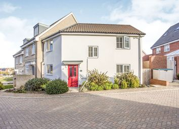 Thumbnail 3 bed end terrace house for sale in Montagu Drive, Saxmundham