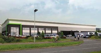 Thumbnail Warehouse to let in Bedford Logistics Park, Hudson Road, Bedford
