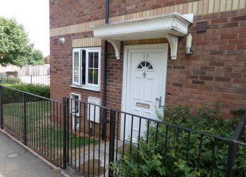 Thumbnail 2 bed end terrace house to rent in Mossmans Close, Bletchley, Milton Keynes