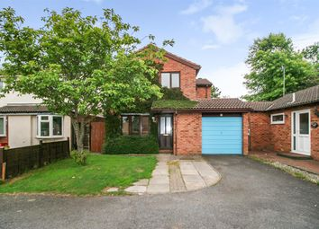 Thumbnail 4 bed detached house for sale in Beacon Close, Leicester
