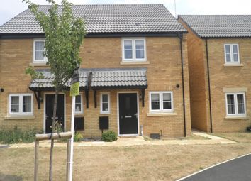 Thumbnail 2 bed end terrace house for sale in Prince George Drive, Oundle, Peterborough