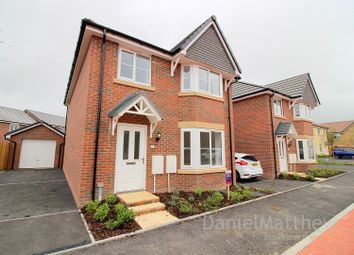 Thumbnail 4 bed detached house for sale in Heol Healey, Brackla, Bridgend.