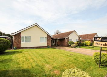 Thumbnail 3 bed bungalow for sale in St Peters Avenue, Moulton