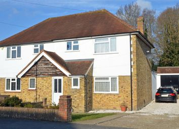 Thumbnail 3 bed semi-detached house for sale in Old Pasture Road, Frimley, Camberley, Surrey