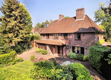 Thumbnail 6 bed detached house for sale in White Pillars, Holly Bank Road, Hook Heath, Woking