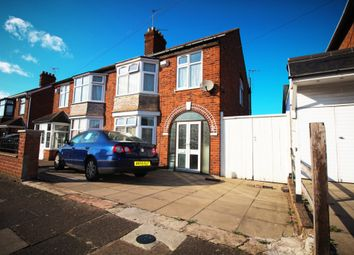 Thumbnail 3 bed semi-detached house for sale in Clumber Road, Evington