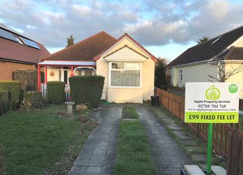 Thumbnail 3 bed bungalow to rent in Wingletye Lane, Hornchurch