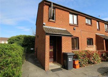 Thumbnail 1 bedroom maisonette for sale in Heronbridge Close, Westlea, Swindon