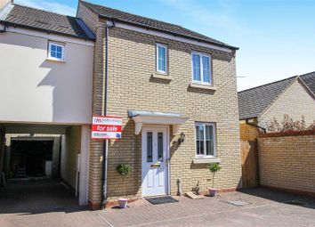 Thumbnail 3 bed end terrace house for sale in Meadow Rise, Hinchingbrooke, Huntingdon