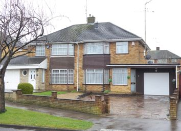 Thumbnail 3 bed semi-detached house for sale in Holliwick Road, Dunstable