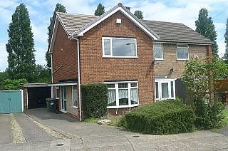 Thumbnail 2 bed property to rent in Helming Drive, Wolverhampton