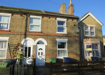 Thumbnail 2 bed end terrace house for sale in Station Road, March