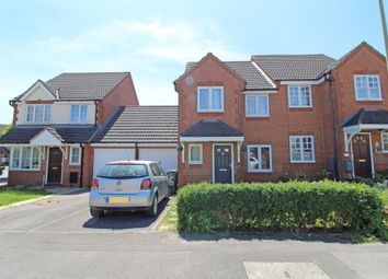 Thumbnail 3 bed semi-detached house to rent in Evenlode Drive, Ladygrove, Didcot, Oxon