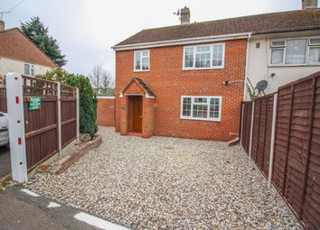Thumbnail 3 bed semi-detached house for sale in Linford Close, Harlow