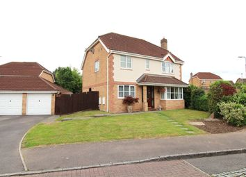 Thumbnail 4 bed detached house for sale in Candwr Park, Ponthir, Newport
