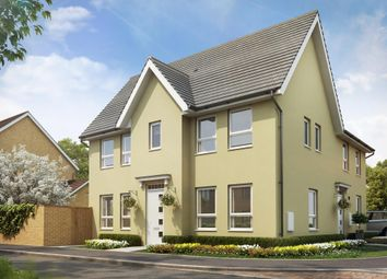"Thumbnail 3 bed semi-detached house for sale in ""Morpeth"" at Tiverton Road, Cullompton"