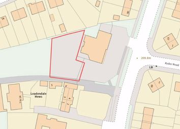 Thumbnail Land for sale in Sandon Road, Longton, Stoke-On-Trent