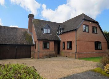Thumbnail 4 bedroom detached house for sale in Hillside, Burghfield Common, Reading
